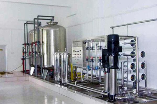 上海玲妃化妆品超纯水设备工程