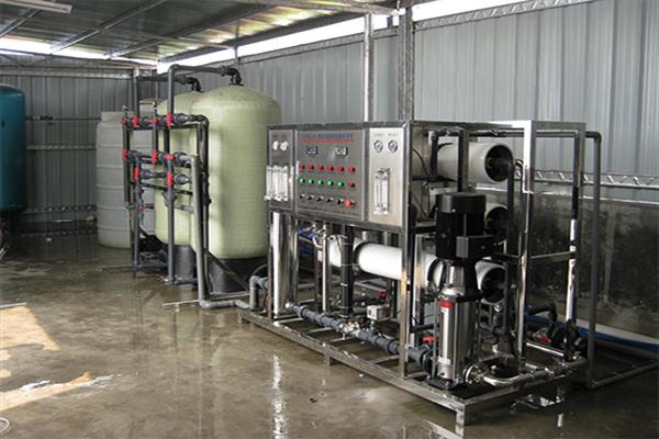 江西金山玻璃生产用工业净水设备