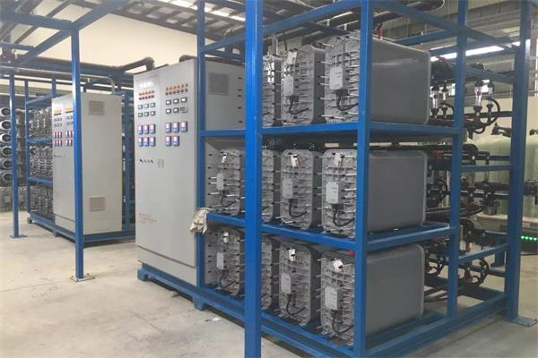 宁夏半导体芯片生产用EDI超纯水设备