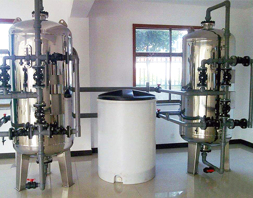高温、高硬度软水设备